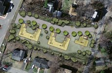 Residential projects by DeVellis Zrein, Inc.: Landscape Architects, Civil Engineers, Land and Site Planners and Surveyors of Foxboro, MA